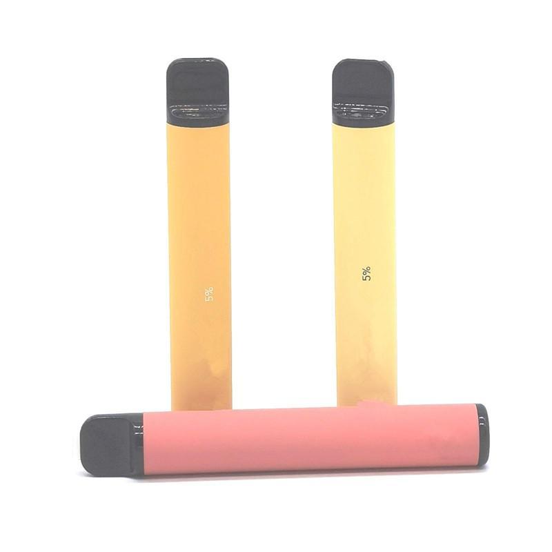 Hottest BAR PLUS 800 + Puffs jetable Pod Cartouche 550mAh batterie 3,2 ml préremplie Vape pods bâton style 37 Couleurs Portable stylo Vaporizer