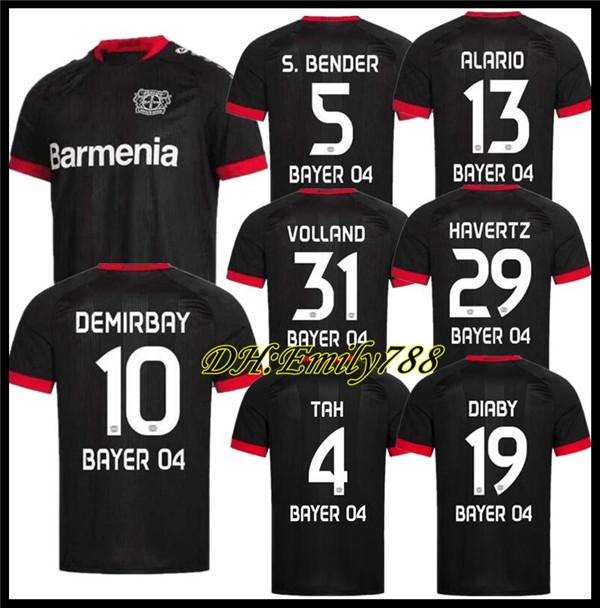 Acquista 20 21 Leverkusen Soccer Jersey L.Bender 2020 2021 Bayer 04 Leverkusen Havertz Jersey Demirbay Alario Football Camisetas Classic Shirts Kit A ...