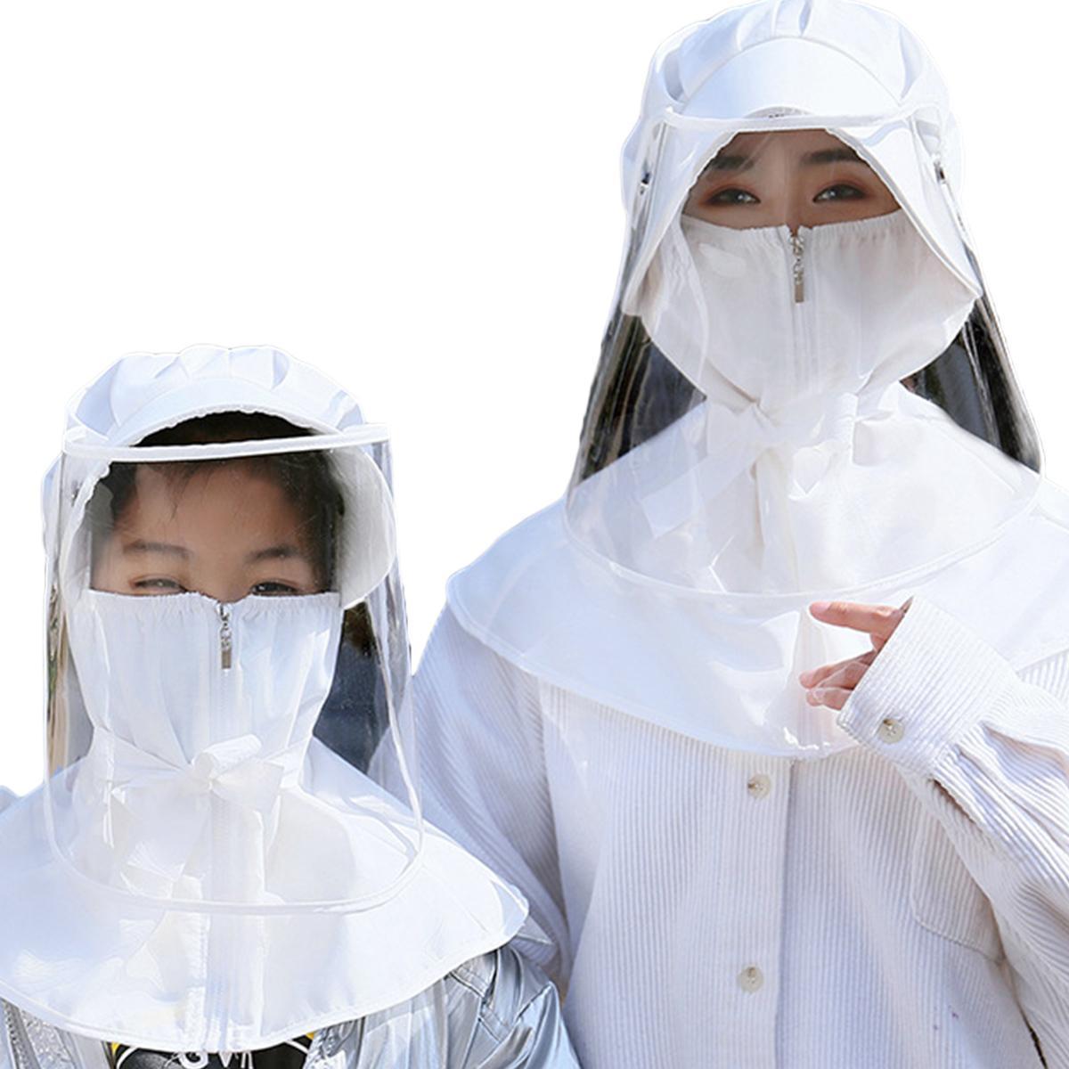 Tapa protectora Anti Niebla saliva a prueba de viento extraíbles Sombreros AdultKids Caps