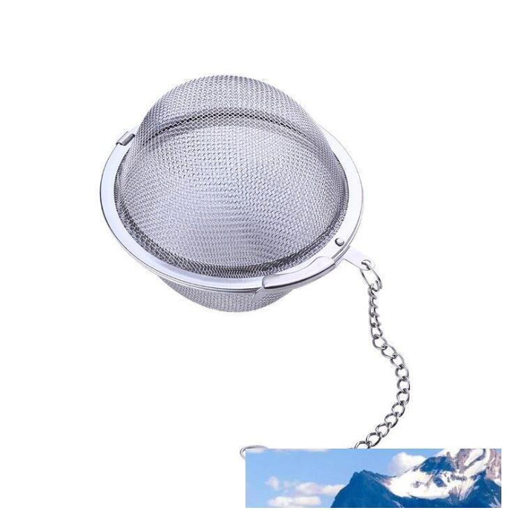 Paslanmaz Çelik Çaydanlık demlik Küre Mesh Çay Süzgeç Dolgu Topu Süzgeç Ball'un 5 cm Toptan LX1331