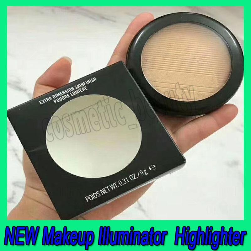 .HOT NEW Makeup Illuminator Makeup Highlighter Facial Bronzers Palette Face Contour Shimmer Powder Body Base Illuminator Face Makeup