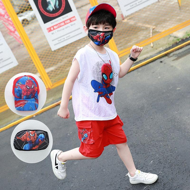 2020 2020 Cosplay Abbigliamento Bambini di fascia alta dei neonati di estate dei vestiti del bambino vestito di sport bambini costume Per Ragazzi Set 2 10 anni GdLu #