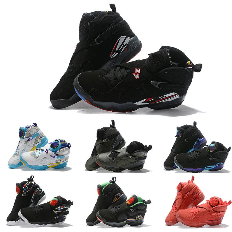 New Men 8s Kids Retro Basketball Shoes