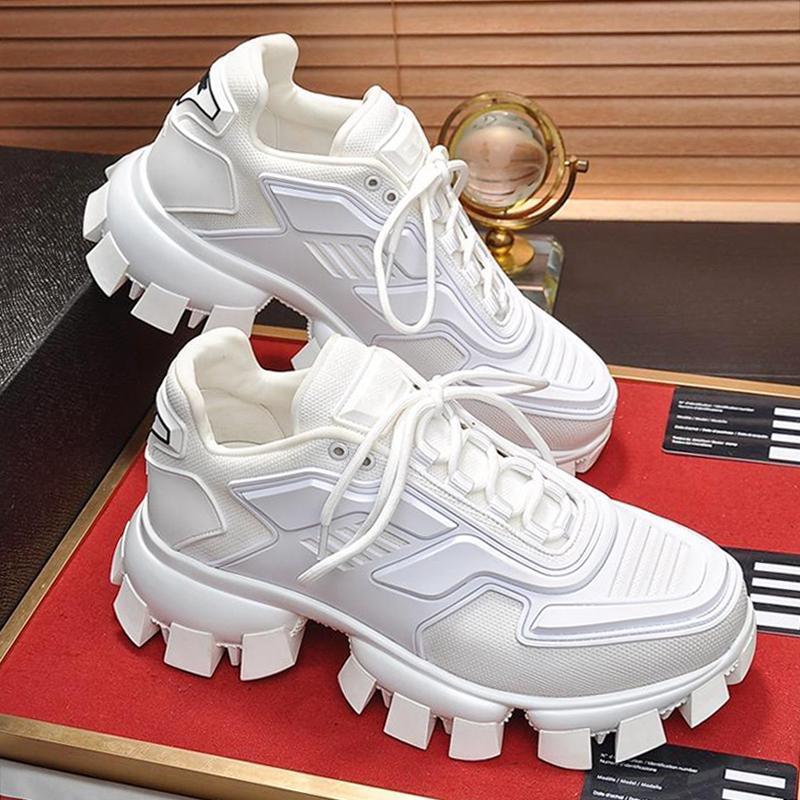 Leve Cloudbust Trovão Knit Sneakers Men '; s Shoes Scarpe Sportive Da Uomo Venda alta qualidade de luxo Shoes Lace -Up Casual Men Sh
