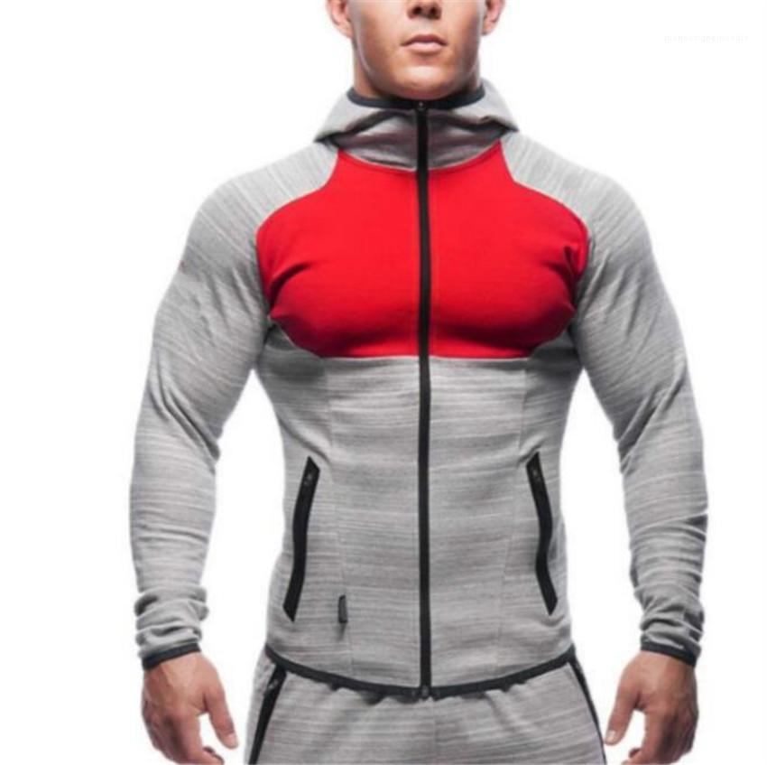 Hoodies Designer Laufen Thin Langarm mit Kapuze Mann Sweatshirts Tarnung beiläufige Homme Kleidung Fitness Sports Männer