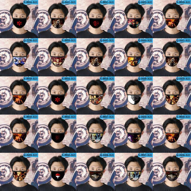 Naruto Oc cubrebocas diseñador de la máscara tapabocas reutilizable para rostro bebé de la historieta de la máscara 01 naruto Oc VKqzA outdoors2009