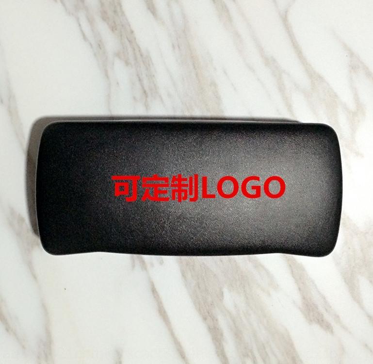 Kore tarzı deri moda high-end güneş vaka vaka basınca dayanıklı V marka gözlük büyük kapasiteli çerçeve gözlük kutusu kutusu