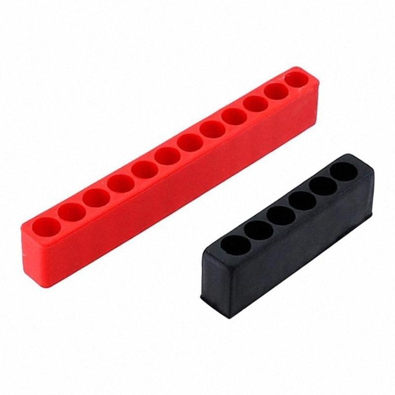 5pcs Multi Fori Hex Shank Bit Holder cacciavite Plastica Capo bagagli Caso PT6B #