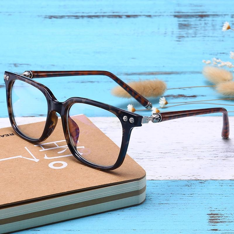 Cuadro nuevo marco TR90 ultra-ligeras gafas de miopía de gama alta de los hombres personalizados lisos con gafas de la miopía