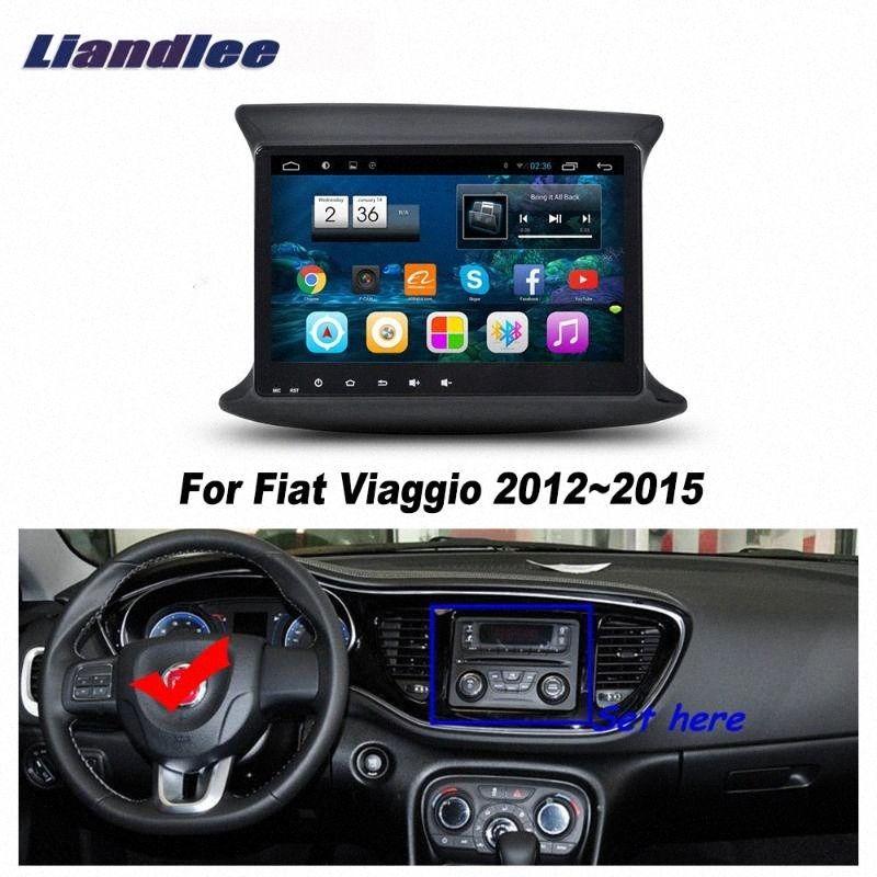 Car Vehicle Android GPS Para Viaggio 2012-2020 Tela Radio Player GPS NAVI Mapas Touch HD TV Multimedia No CD DVD ndoX #