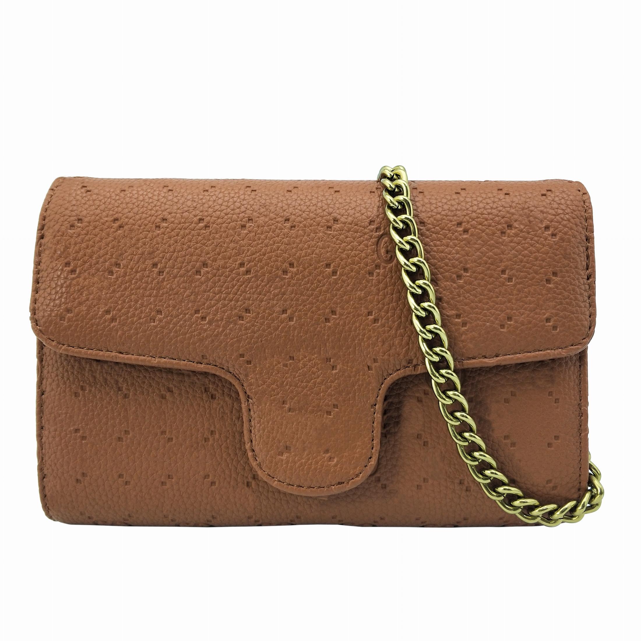 Hohe Qualität Frauen Umhängetaschen PU-Leder Mode Kleine Goldkette Crossbody Taschen Große Brieftasche Handtaschen Messenger Bags Totes Schneller Deliver
