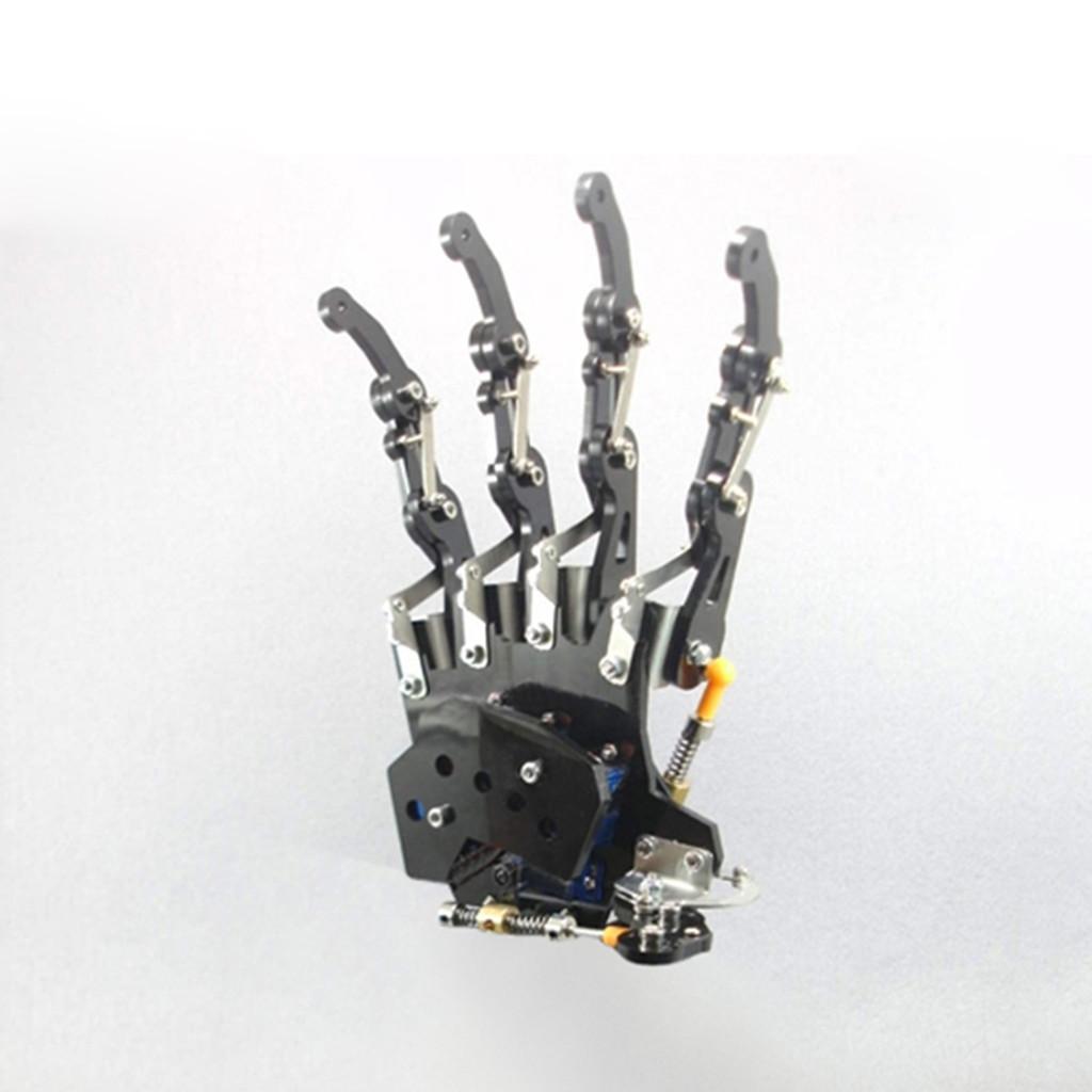 Robot Five Fingers Métal Manipulateur bras main gauche, 5 ddl