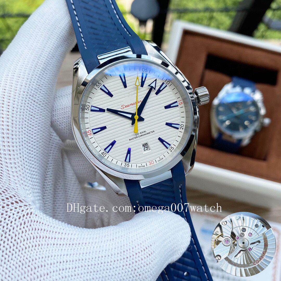 2020 hochwertige James Bond 007 aqua terra Meer Master Uhrmänner Planet Ozean-Sport-Armbanduhren seamaster Herrenuhr D2120