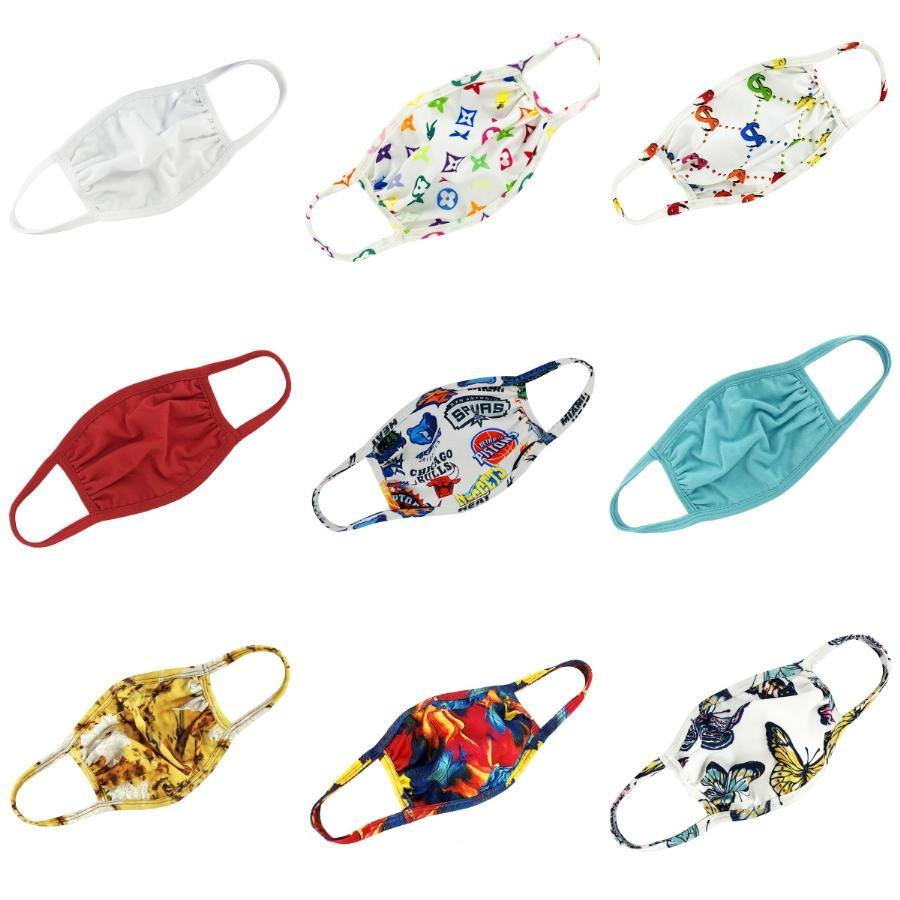 Masque éponge Fa 3D Mout Er protection masque pour adulte Wasable Fa # Masques anti-poussières 873