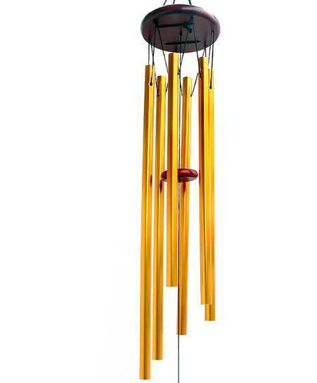 Grace profonde résonant antique en bois en bois 6 tube WindChe Chapelle Bells Vent Chilimes à la maison Ornement Handicrent Cadeaux Cadeaux Mer Environnement DHB348