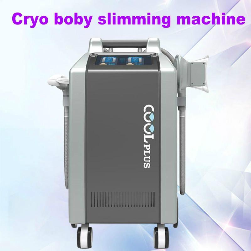 3 kolları ve vücut zayıflama CE 1 çift çene ile cryolipolysis zayıflama makinesi 4 kolları yağ dondurma Liposuction makinesi