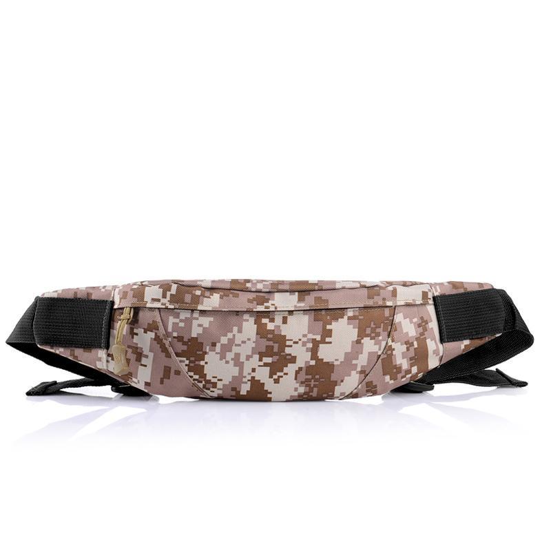 Nuevos deportes al aire libre bolsillos invisibles viajan bolsillos de camuflaje senderismo carry acampada bolsas de hombres y mujeres que dirigen alpinismo de los bolsillos del teléfono
