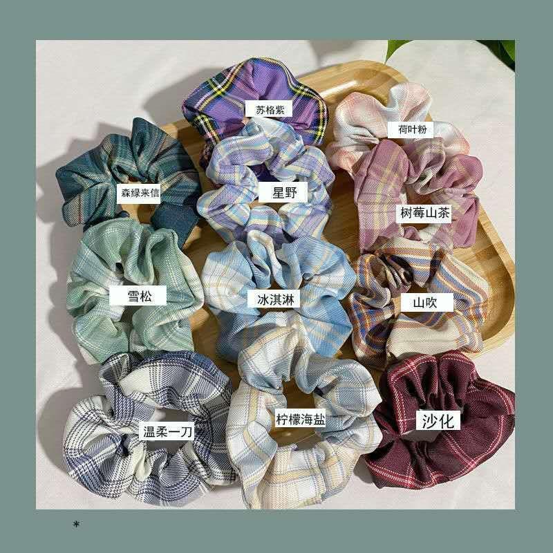 Hot venda designer de rabo de cavalo cabeça de veludo corda hairband elástico laço de cabelo corda cabeça adequado para mulheres ou meninas 50 tipos ofrandom05