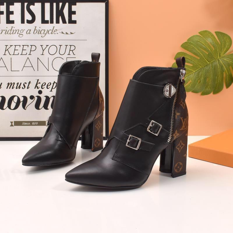 New9 senhoras de alta qualidade botas casuais botas de salto moda botas selvagens negócio de trabalho de alta caixa de embalagem original entrega rápida