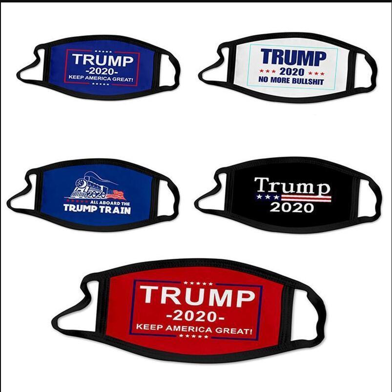 DHL 2020 Maschere Elezione Trump Cotone Mask Keep America Great Again Cosplay Biden partito Viso Anti polvere Inquinamento Bocca copertina