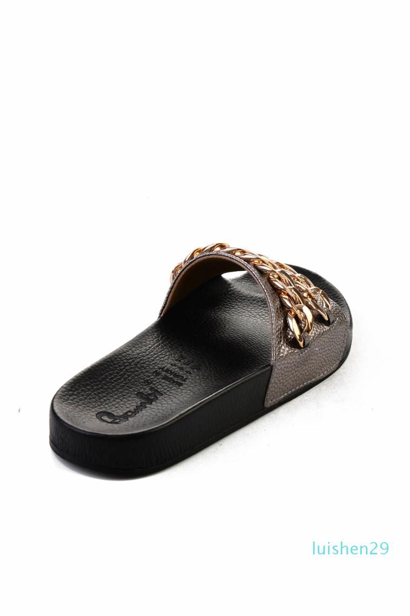 Spiaggia di estate T163 Nuovo di alta qualità interne dei pistoni piani dei sandali di modo delle donne degli uomini di caduta di vibrazione scarpe casual tacchi alti uomini donne scarpe L29
