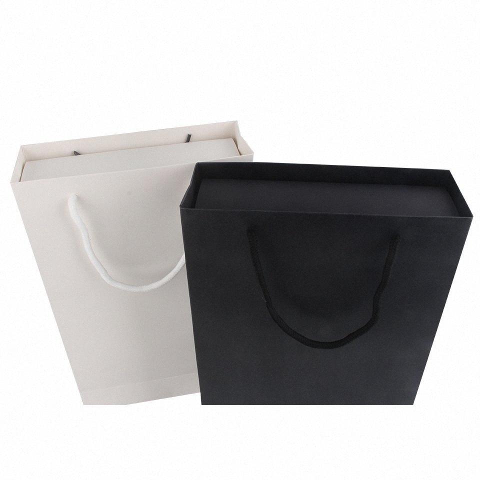 Gift Paper Womens caramella di cerimonia nuziale della spesa Box Bag Kraft cioccolato Scatole Cookies Bag può aggiungere personalizzato di spedizione Packaging sacchetti regalo di nozze UgHU #