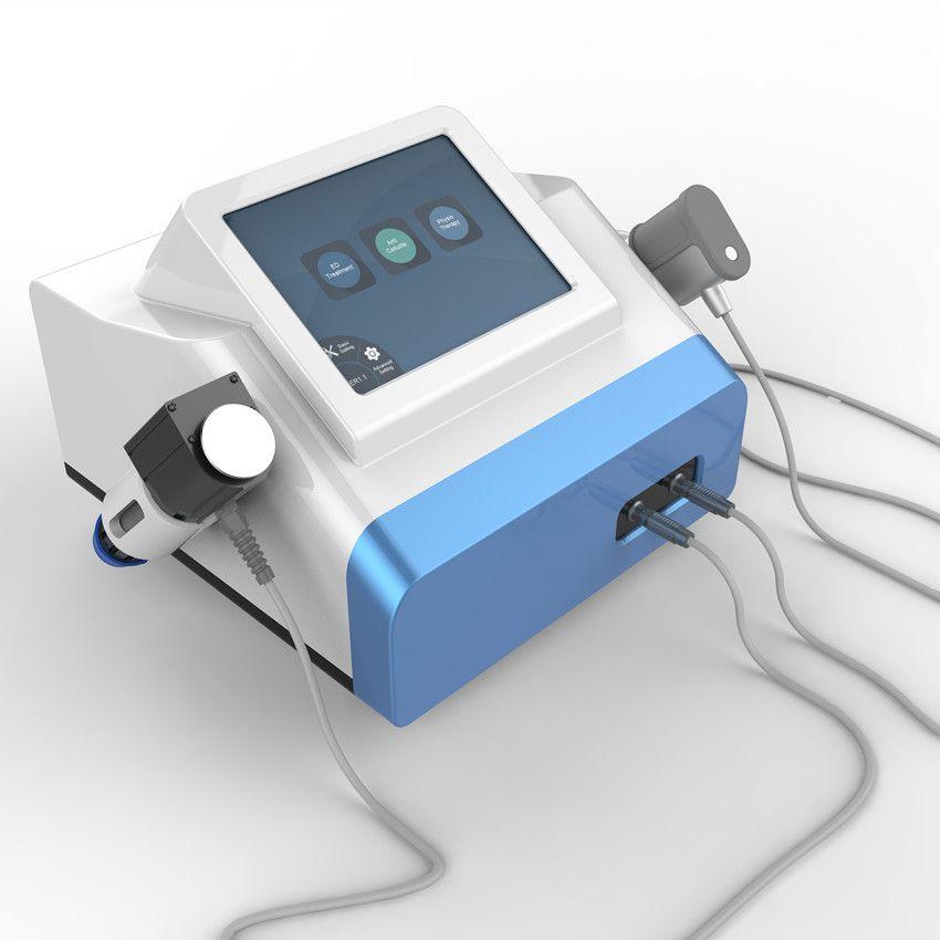 Ekstrakorporal taşınabilir ed şok dalgası tedavisi fizyoterapi makinesi Ereksiyon Şok sırt ağrısı kabartma şok dalgası dalga ed