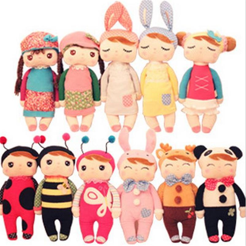 30cm Free EMS Sleep Angela Metoo Rabbit Doll Plush Stuffed Animal Kids Toys for Girl Children Birthday Christmas Gift 20PCS WL02