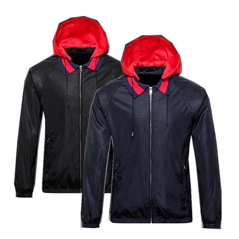 heißen Verkauf Mens Designer-Jacke Designer-Mantel neue Jacke mit Buchstaben Windbreaker Zipper Hoodies für Männer Sportwear Tops Bekleidung