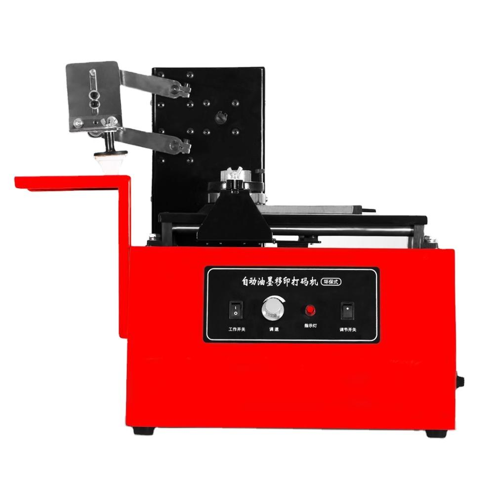 2020 Hot Selling Electric Single Color Pad Printing Machine with a speed of 10-60 strokes/min Pad Printer