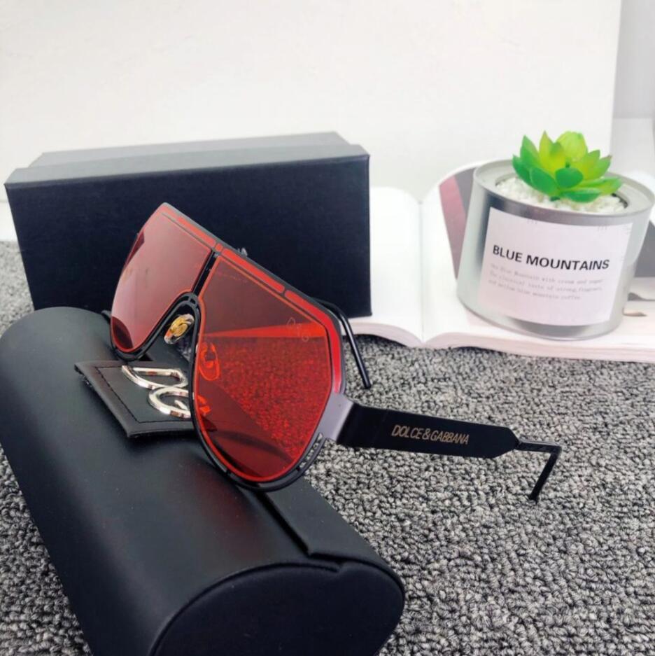 neue Männer Sonnenbrille 2231 Art und Weise große ovale Sonnenbrille Beschichtung grau und braun Linse Metallrahmen Farbe überzog Rahmen UV400 Objektiv Top-Qualität