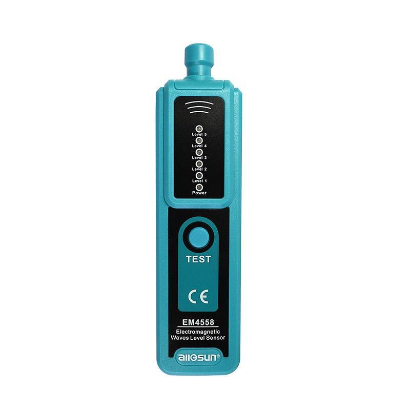 전자파 레벨 감지기 펜 타입 휴대용 EMF 측정기 방사선 센서 LED 다섯 레벨 파도의 힘을 모든-일 EM4558