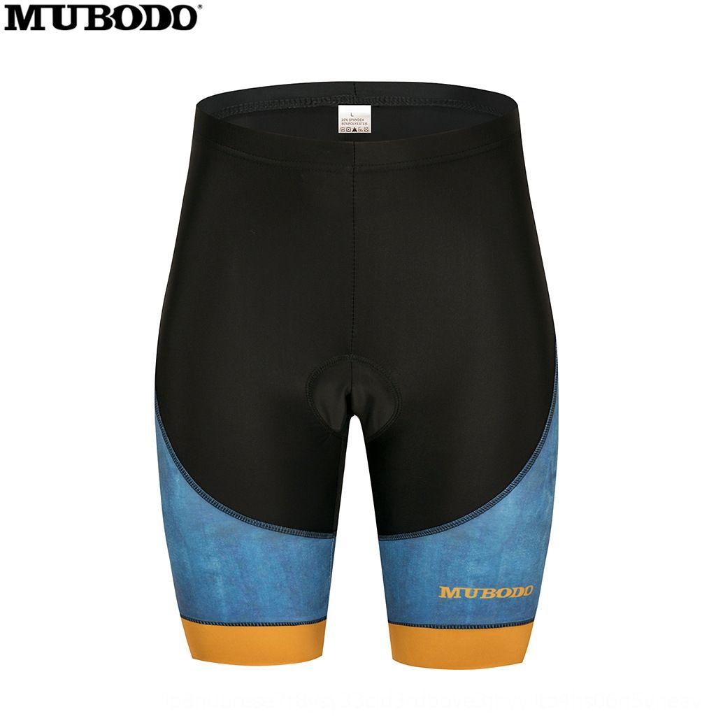 MUBODO bicicletta stampa digitale tuta pantaloncini cuscino Digital 5D cuscino del sedile pantaloncini squadra di personalità casuale