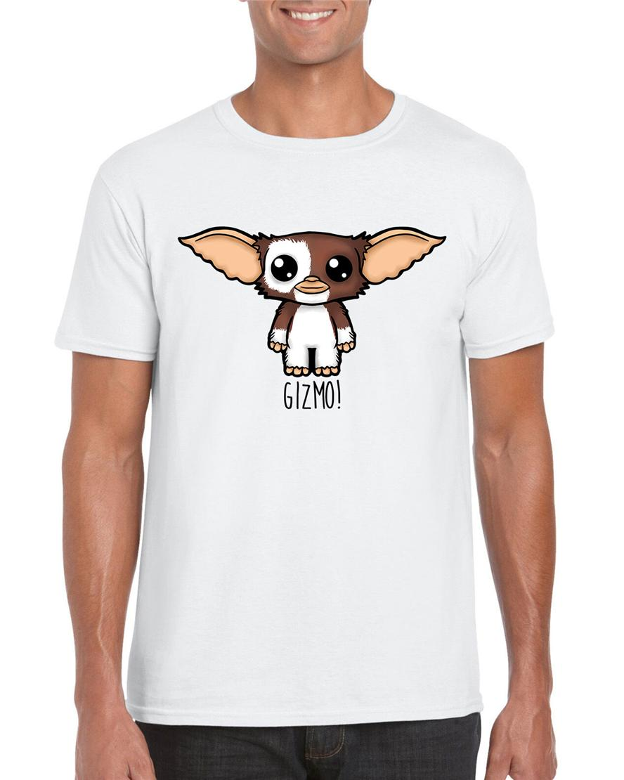 Gizmo! Carino Gizmo Gremlins Mogwai Illustrazione Graphic T-shirt Inspired Style Estate Casual Wear Tee Shirt