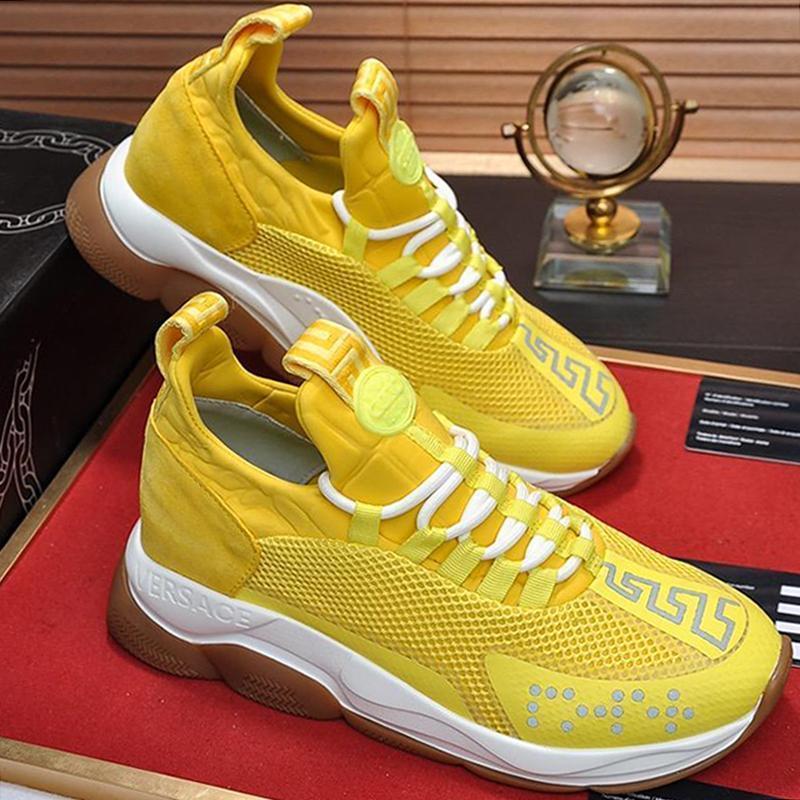 Chaussures Hommes Nouveau arrivée Vintage Outdoor Walking Casual Footwears Cross Chainer lacée espadrilles -Jusqu'à Taille Plus Sport Hommes Chaussures Zapatillas Hombre