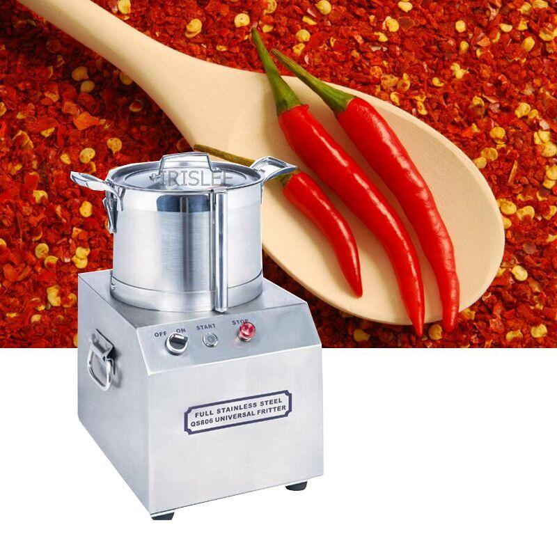 1400r / min gengibre Alho pimentão carne cortador / carne e vegetais cortador / alta velocidade da máquina almôndegas batimento / máquina de corte vegetal