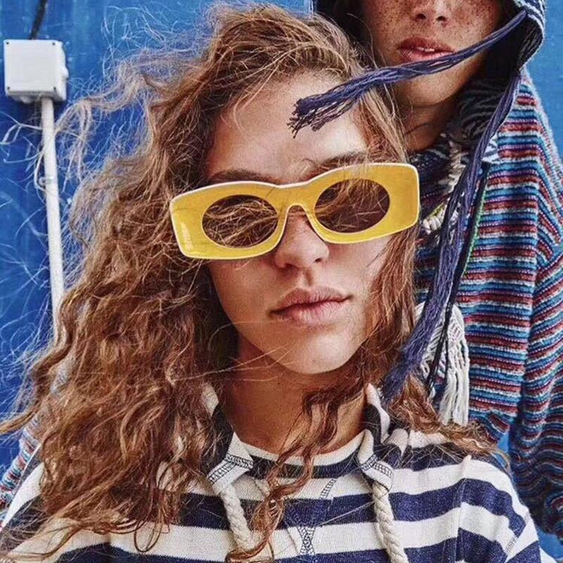 Trendy Mulheres Óculos de Sol Óculos de Lúpulo Luxo Homens 2019 Sun UV400 Hip Sunglasses Moda Côncavo Oculos Exclusivo Feminino Funny BNQXC