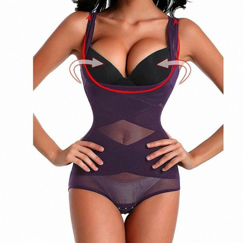 Mulheres Corpo Shaper Emagrecimento cintura instrutor Cincher Underbust Corset Belt Shapewear DTAI #