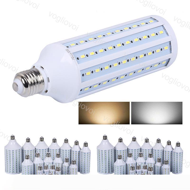 LED Ampuller E27 SMD5730 Mısır Işıklar AC85-265V 20W 30W 40W 60W Kapalı Ev Fotoğrafçılık Masa Duvar Işıklar Dekorasyon Işık DHL için 360 Derece