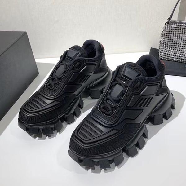 Cloudbust Thunder Sneakers Herren Frau Platform Schuhe 3D Runner Trainer Strickgewebe Niedrige Oberteil Light Gummi Außenschuh mit Box