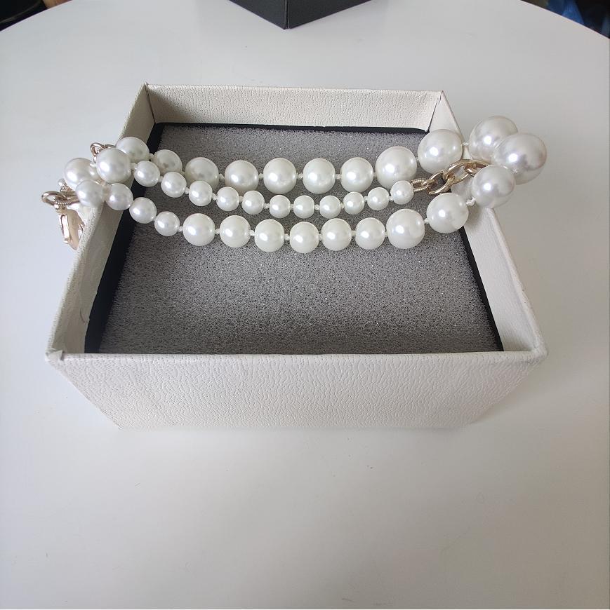 Nouveaux produits Collier chaîne New Necklace Perle élégante Mode Femme sauvage Collier exquis Bijoux alimentation