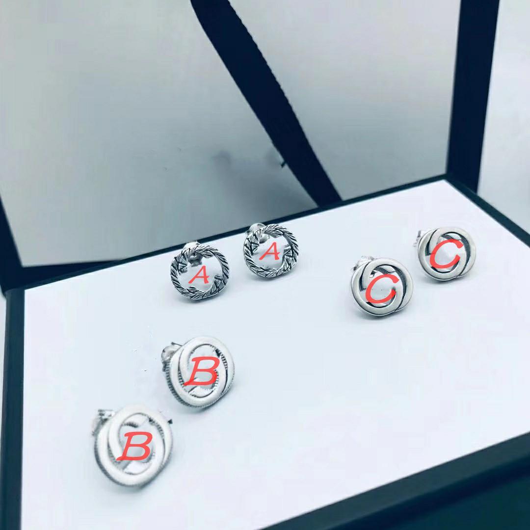 S925 الفضة الاسترليني القرط أقراط قصيرة الفضة حلق الأزياء عيد الميلاد سحر الأذن أقراط فضة أقراط مجوهرات