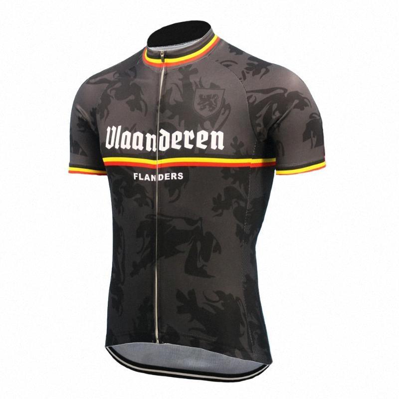 Fiandre ciclismo estate Maglia Nero Blu Giallo vestiti di riciclaggio ropa ciclismo abbigliamento da montagna di usura MTB Maglia ao7b #