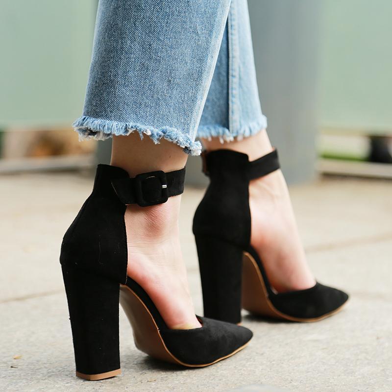 2020 di alta Donne sexy classico sandali delle signore di estate con cinghietti pompe talloni della piattaforma della cinghia della caviglia donna Scarpe CX200715