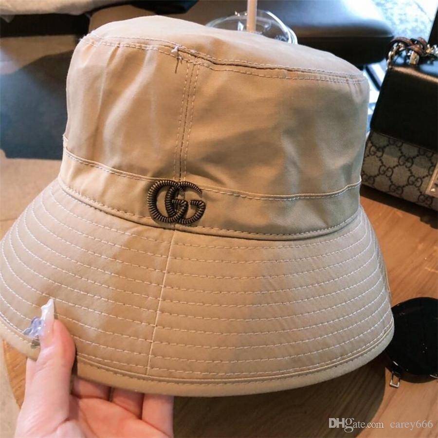 alta qualidade chapéu de sol clássica do curso 2021 New chapéu pescador chapéu de balde de moda de luxo para homens e mulheres A9