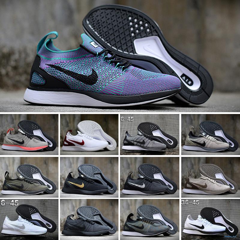 Nike Flyknit Racer 2020 Мужчина Женщины Бреда тройных черный Multi-Color Вязать 2,0 кроссовок Серого гонщика синего паука Orca Тренажёры Спорт Спортивные кроссовки SH