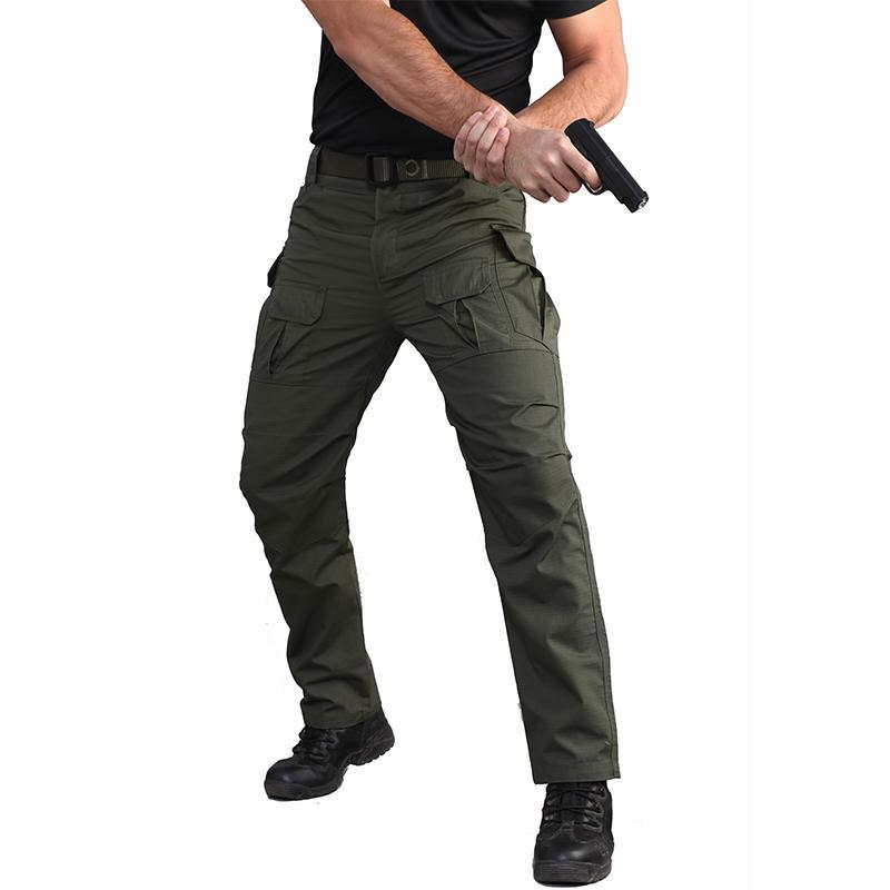 Xz ripstop pantalones pantalones de carga hombres impermeable pantalones tácticos al aire libre camping montañas pesca escalada Senderismo