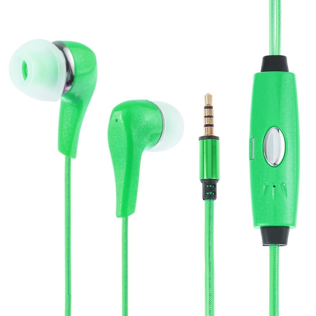 1m plugue de 3,5 mm Universal Stereo Visible EL Fluente Luz fones de ouvido com microfone