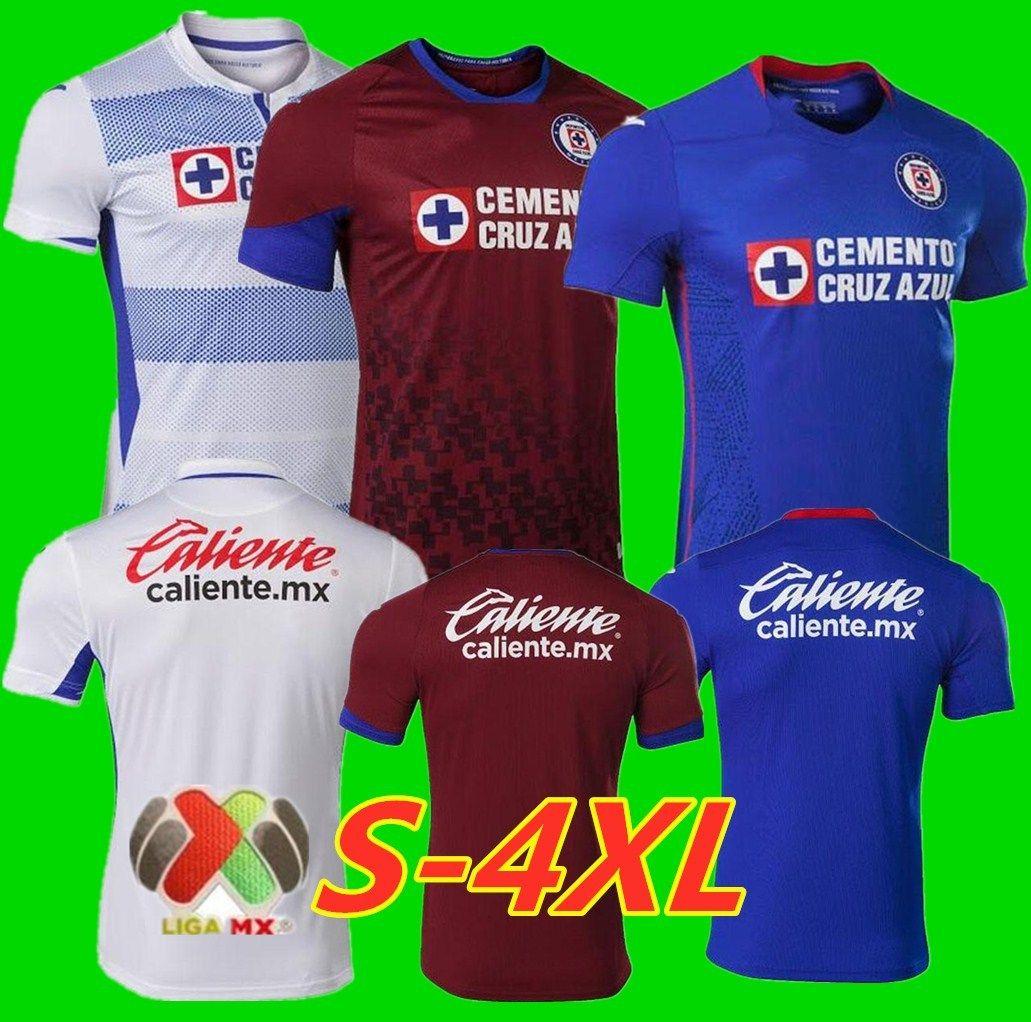 S-4XL 2020 CD Cruz Azul SOCCER JERSEYS HOME AWAY 20 21 ALVARADO 25 RODRIGUEZ 21 PINEDA 31 ESCOBAR 24 ROMO 7 JERSEY FOOTBALL SHIRTS