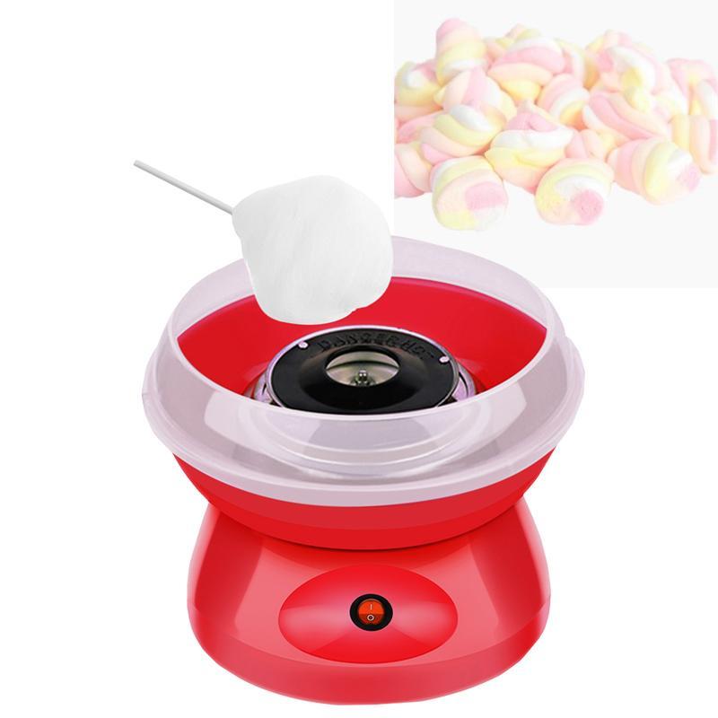 Lewiaohot 220v elektrische baumwolle süßigkeiten maschine sugar cotton candy maker party diy tragbare baumwolle zucker floss maschine